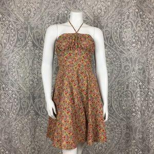 Betsey Johnson NY Mini Floral Print Boho Dress